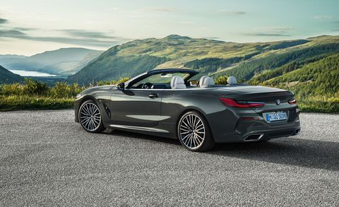 The 2019 Bmw 8 Series Convertible Is Joining The M850i Coupe