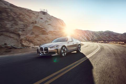 2021 BMW i4 front