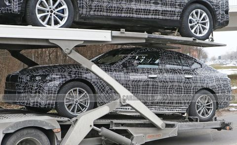 Bmw I4 Spied New Ev Coming In 2021