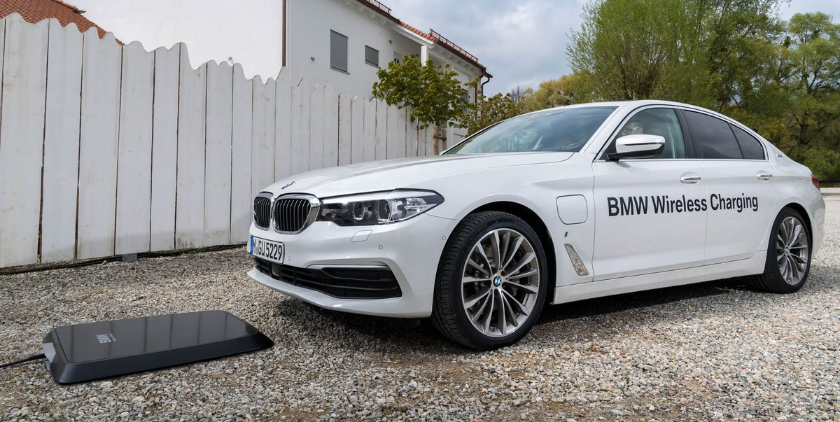 BMW Is Introducing Inductive Charging on the 530e in America