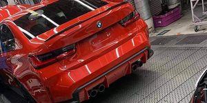 BMW M3 2020 - trasera