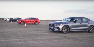 BMW M340i v Audi S4 v AMG E53 v Volvo S60 Polestar