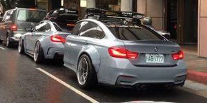BMW Serie 4 remolque