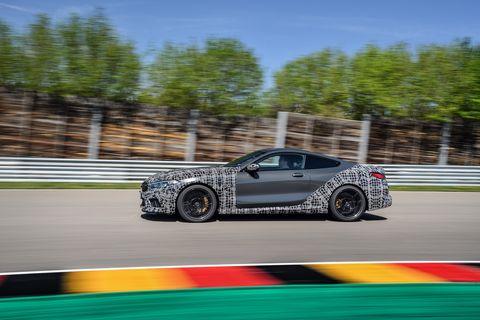 2020 BMW M8 Coupe Prototype