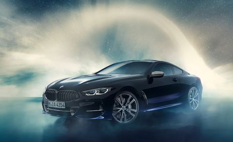 The One Off Bmw M850i Night Sky Has Real Meteorites Inside It