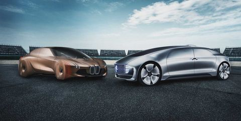 Mercedes F 015 >> Bmw And Mercedes Benz Will Jointly Develop Autonomous Cars