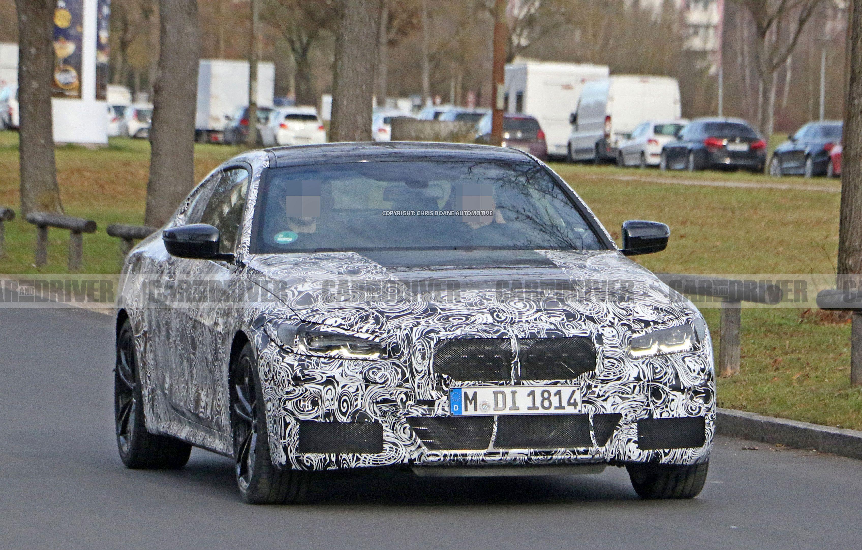 2021 Spy Shots BMW 3 Series Exterior