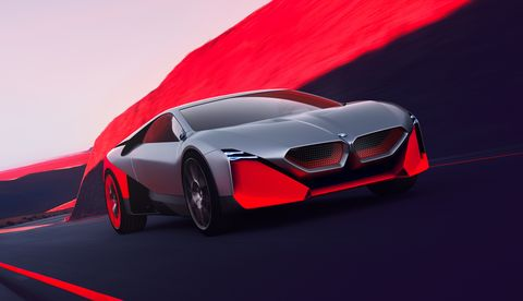 The Outlandish BMW Vision M Next Concept Is a Driver-Focused Hybrid Supercar