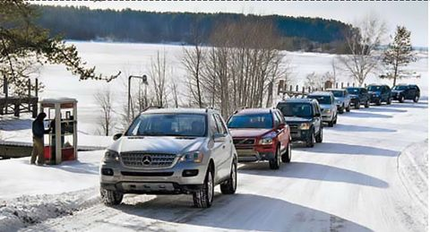 2007 acura mdx, 2007 bmw x5, 2007 cadillac srx, 2007 land rover lr3, 2007 lexus gx470, 2007 mercedesbenz ml350, 2007 volkswagen touareg, 2007 volvo xc90