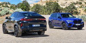 BMW X5 y X6 M