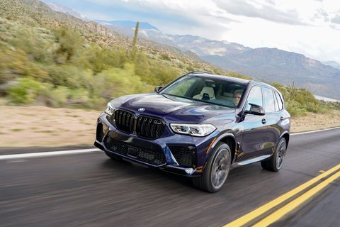 2020 BMW X5 M Competition first drive review