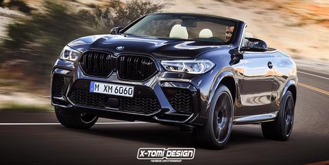 BMW X6 M Cabrio