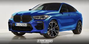 BMW X6 M render
