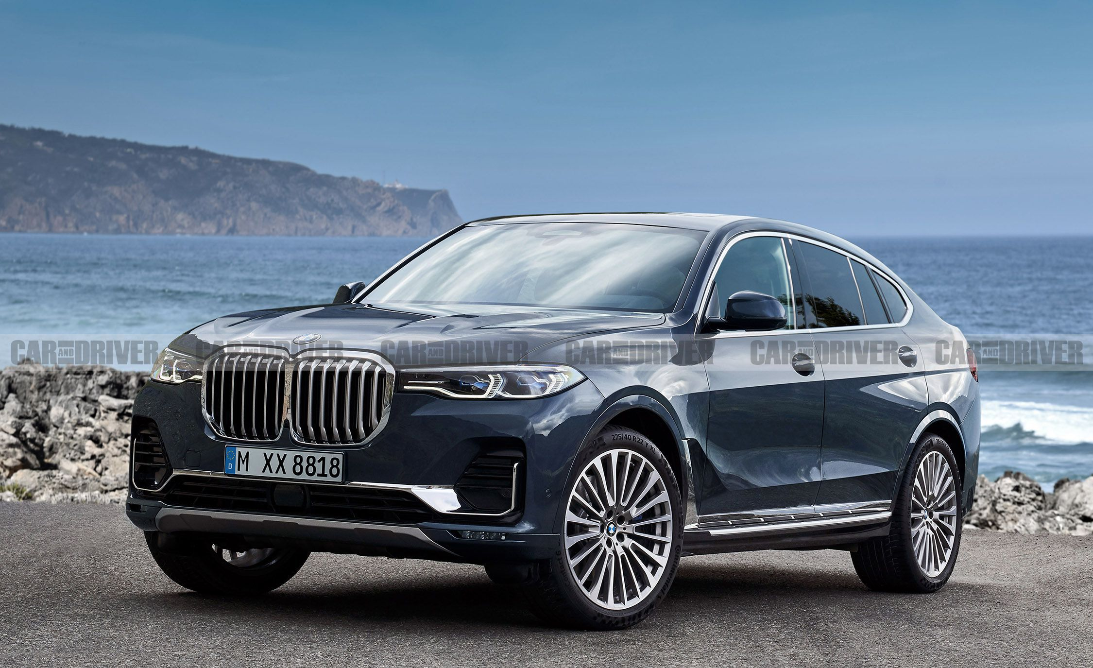 this is what a bmw x8 would look like rh caranddriver com