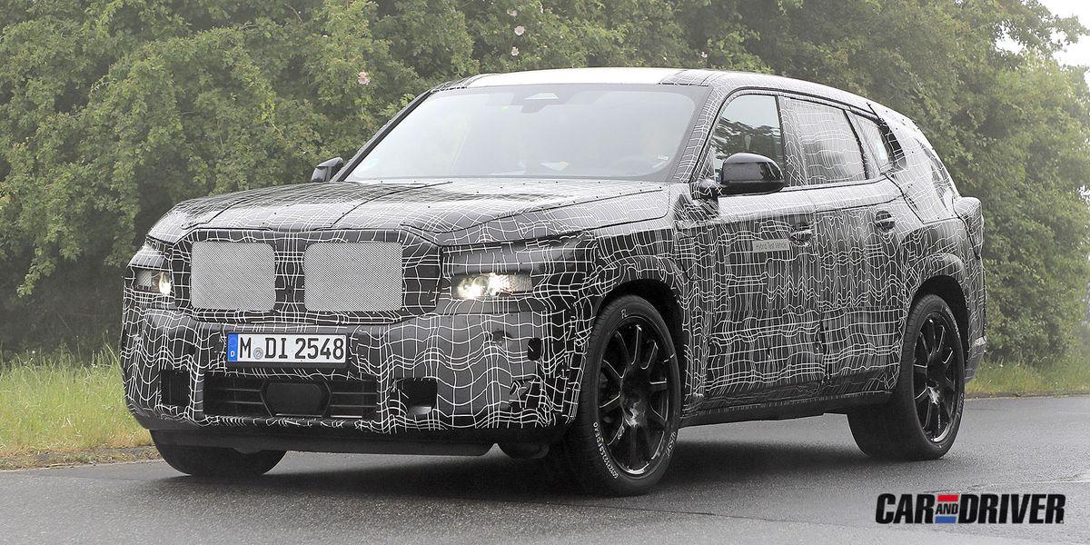 BMW X8: Lo más colosal de BMW se acerca