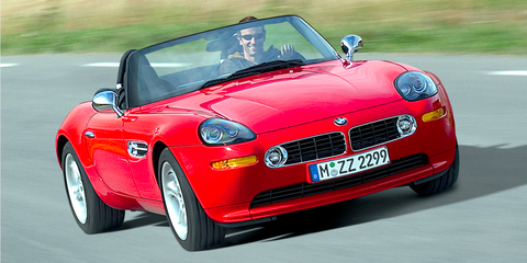 Land vehicle, Vehicle, Car, Sports car, Convertible, Regularity rally, Bmw, Personal luxury car, Bmw z8, Automotive design,