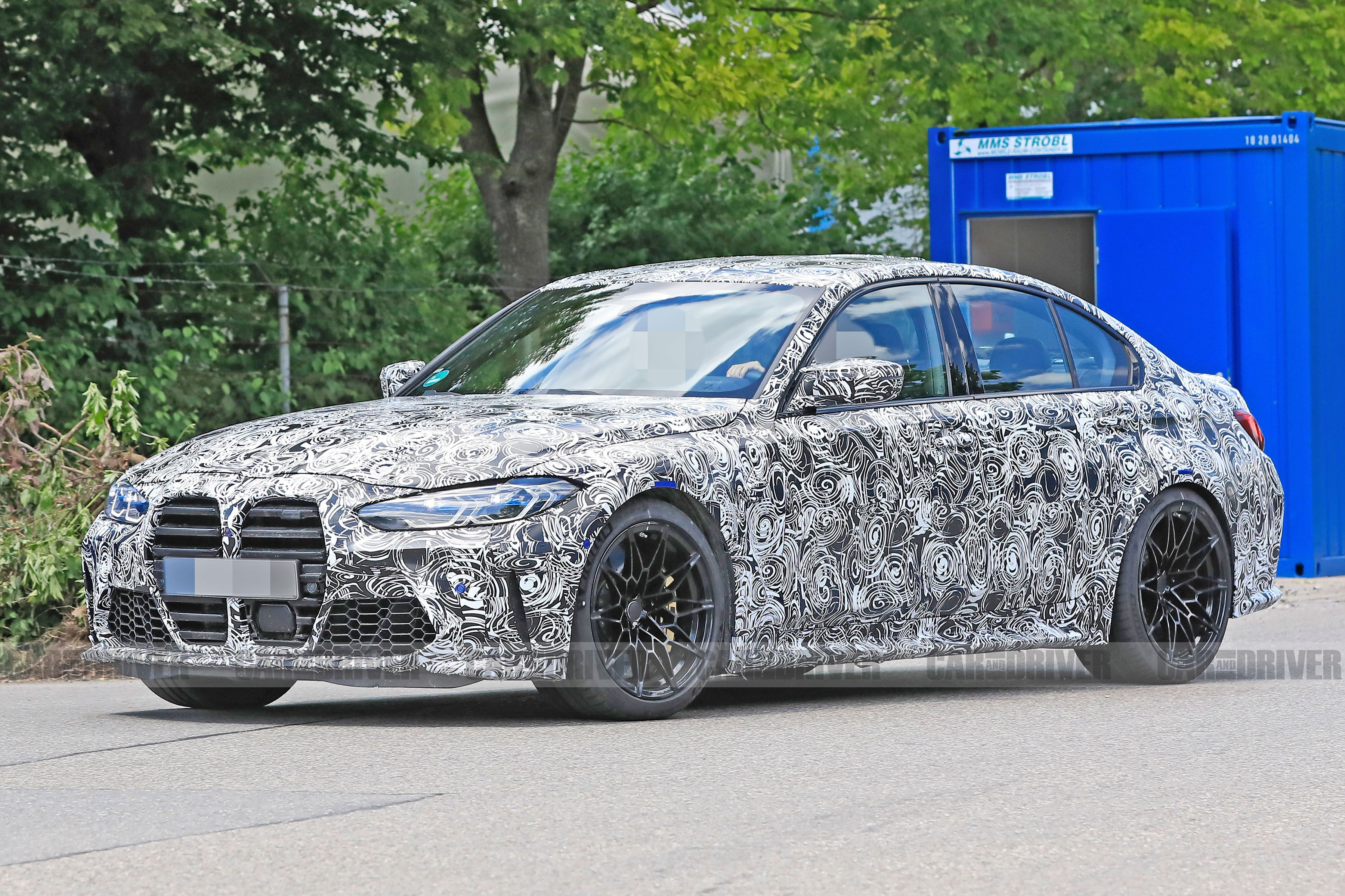 2021 Bmw M3 Will Get The Same Big Mouth As The 4 Series
