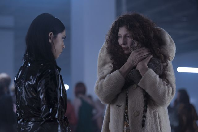 brand new cherry flavor l to r rosa salazar as lisa nova and catherine keener as boro in episode 101 of brand new cherry flavor cr sergei bachlakovnetflix © 2021