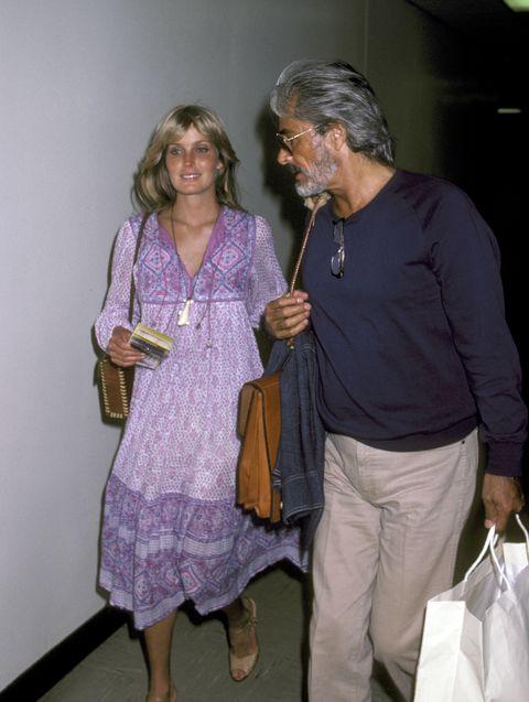 bo derek and john derek sighting at la guardia airport   july 22, 1981