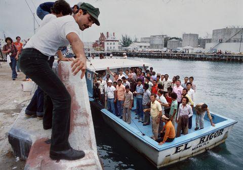 Mariel boat lift