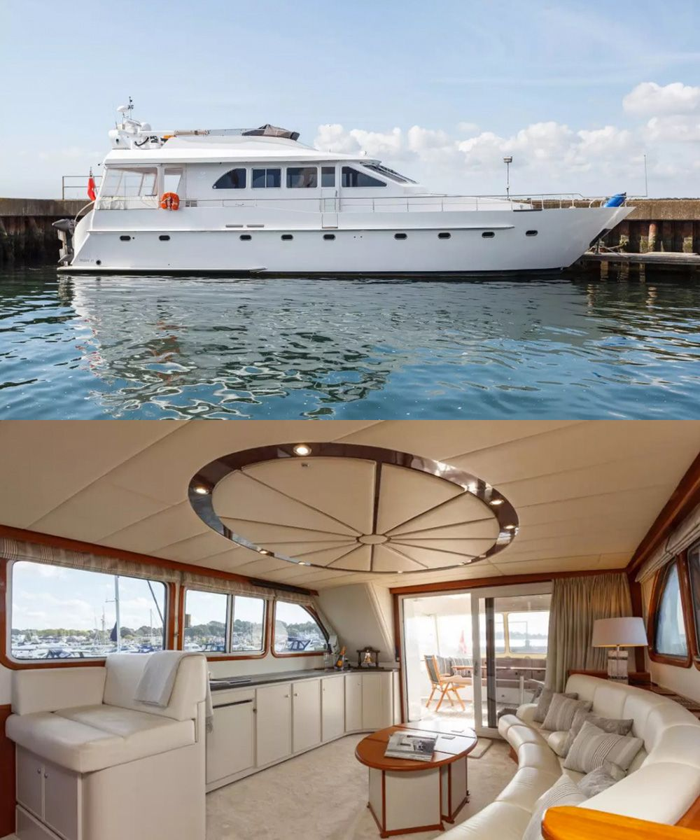 13 incredible boats you can actually rent and stay on