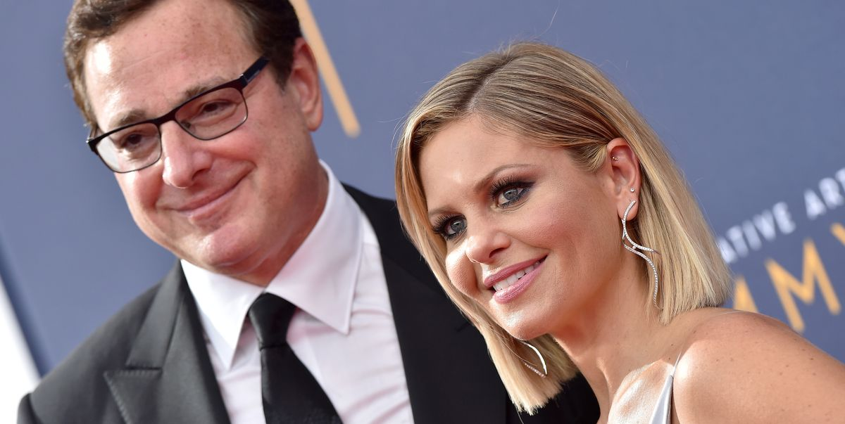 Bob Saget Reacts to Candace Cameron Bure Being Called 'Fake' for Being 'a Happy Person'