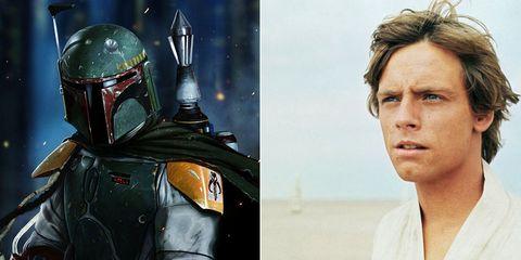 Boba Fett Luke Skywalker