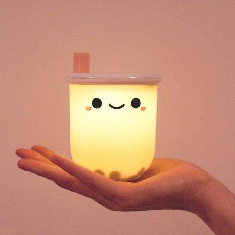This Adorable Boba Tea Lamp Is 12 And Available For Pre