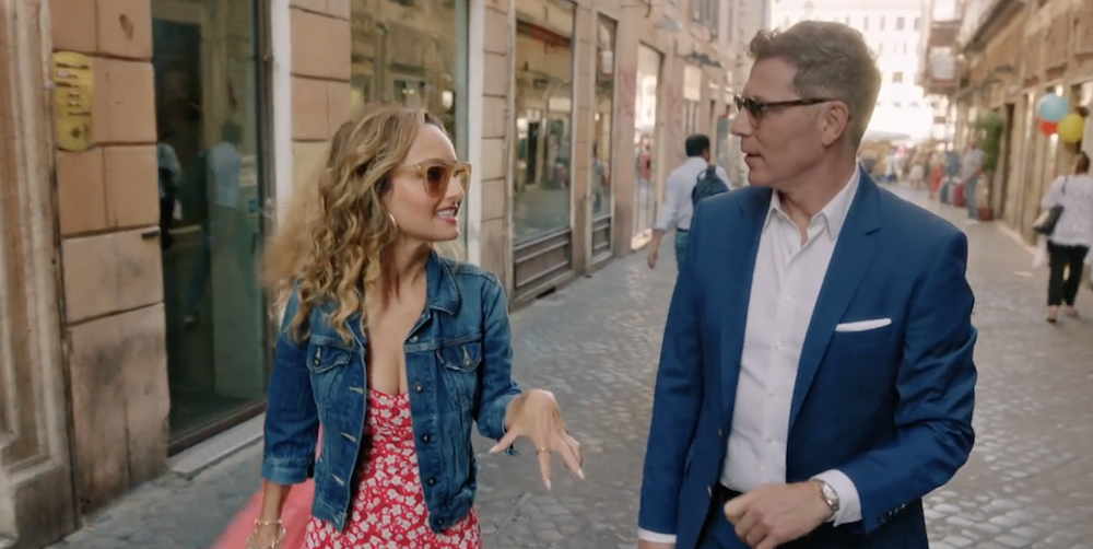 Bobby Flay Said He And Giada De Laurentiis Were In The Best Moods While They Filmed In Italy