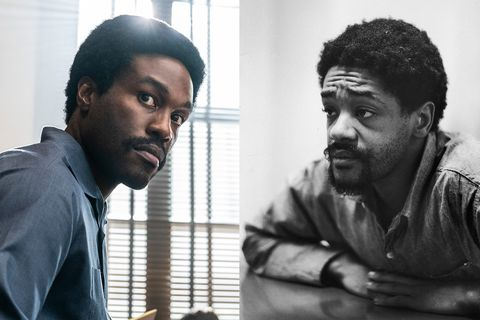 yahya abdul mateen ii as bobby seale in the trial of the chicago 7