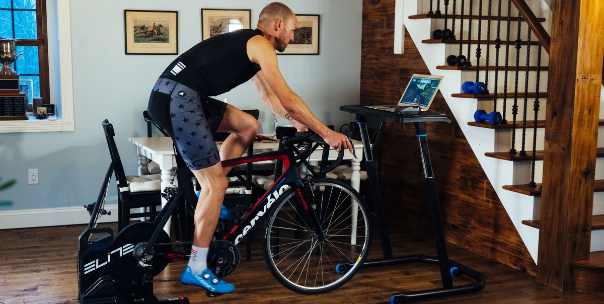 How Cyclists Are Staying Motivated and Active at Home During Social Distancing