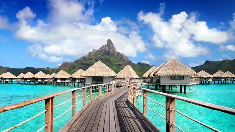 Sky, Tropics, Resort, Turquoise, Vacation, Tourism, Pier, Lagoon, Ocean, Caribbean,
