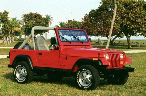 Bob's YJ Jeep Wrangler