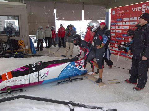 Lauryn Williams' Duo Is Leading Olympic Women's Bobsled