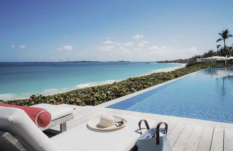 Sky, Property, Vacation, Resort, Swimming pool, Real estate, Ocean, House, Sea, Caribbean,