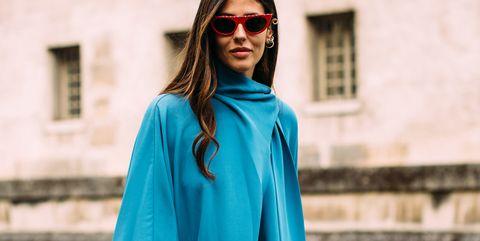 Clothing, Blue, Street fashion, Outerwear, Turquoise, Aqua, Fashion, Electric blue, Cobalt blue, Teal,