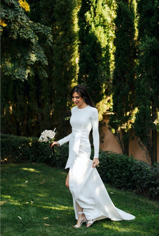 vestido novia española