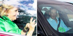 """Alejandra Rojas, hija de los condes de Montarco, y Beltrán Cavero, hijo de los marqueses de Portugalete y sobrino de Esperanza Aguirre, se han dado el  """"Sí, quiero"""" este sábado en Toledo. Las jóvenes han contado para su enlace con numerosos rostros conocidos y miembros de la alta sociedad."""