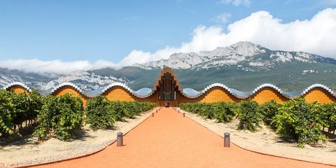 Ysios Winery - Rioja Valley, Spain wine region