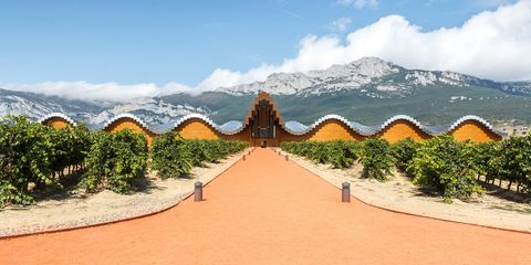 Ysios Winery - Rioja Valley, Spain wine region