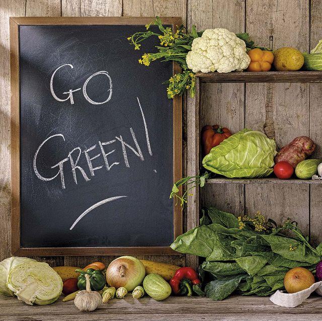 bodegón de verduras go green alimentación sostenible