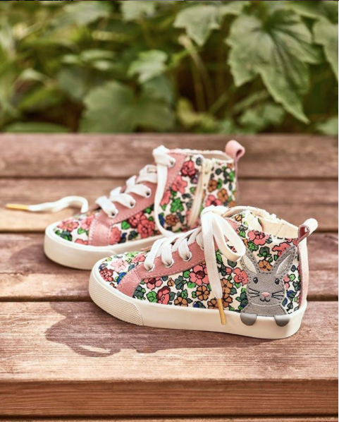 Boden's adorable bunny trainers are