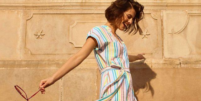 boden evie linen shirt dress