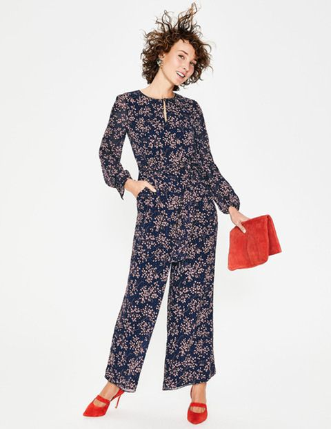 104ed16c884 Boden s floral jumpsuit is perfect for weddings