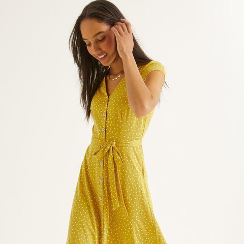 Boden polka dot dresses