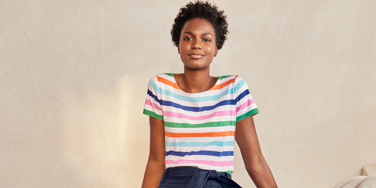 Boden's must-have top is a stylish take on a simple yet classic design