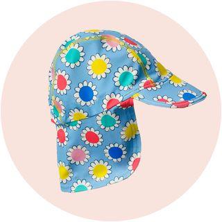 boden rainbow baby sun hat