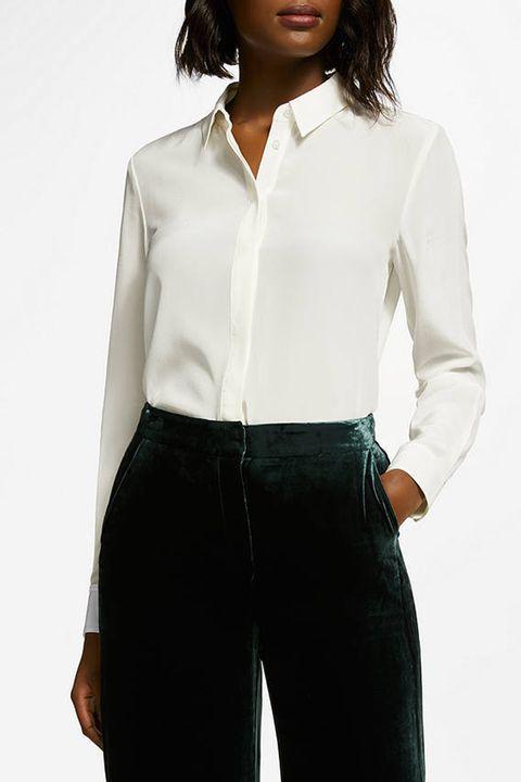 Boden white shirt