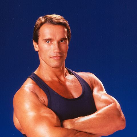 Arnold Schwarzenegger Portrait Session