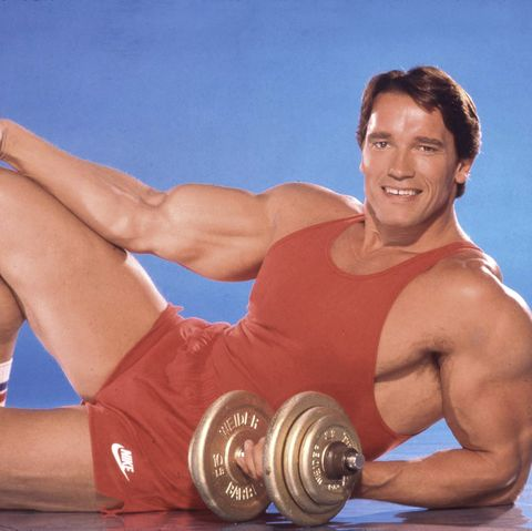 Arnold Schwarzenegger Portrait Session